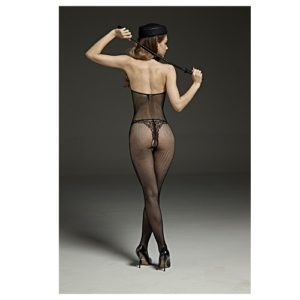 back of high neck body stocking
