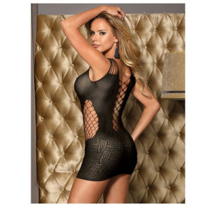 sexy min dress bodystocking back