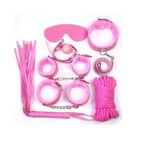 pink sexy s and m bondage kit