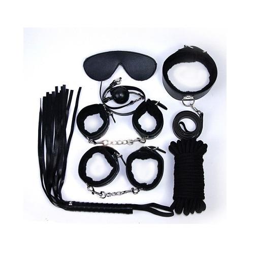 black s&m bondage pack