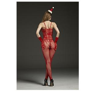 back of spaghetti strap body stocking