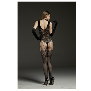 strappy garter body stocking