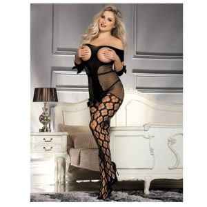 open breast and crotch bodystocking