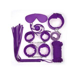 purple sexy s&m kit