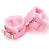 pink s and m hand cuffs