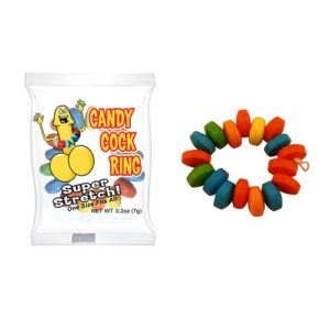 candy cock ring adult novelty