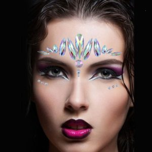 face crystal sticker makeup