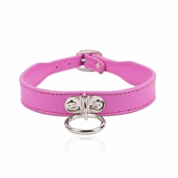 pink slim oring collar