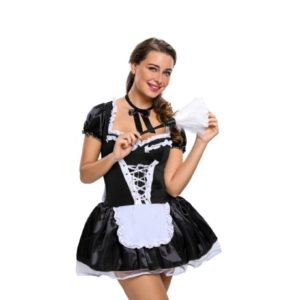 fancy dress french maid costume