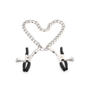 silver chain nipple clamps
