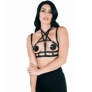 pentagram elastic harness top