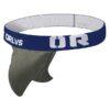 blue wide band orlvs strapless jock strap