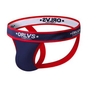 orlvs navy cotton jockstrap