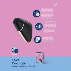 black satisfyer love triangle