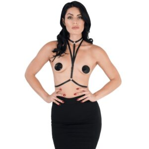 neck to waist elastic harness