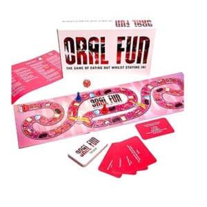 oral fun adult board game
