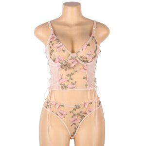 butterfly lingerie set