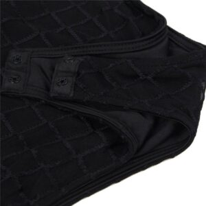 fence net mesh teddy button crotch
